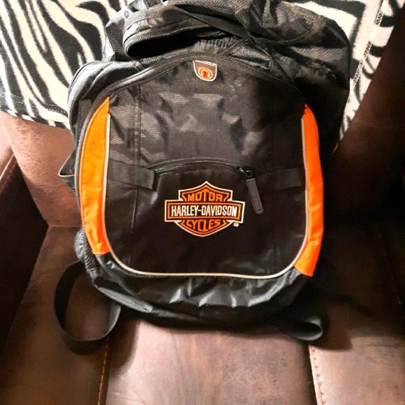 Harley-Davidson book bag